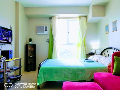 Photo for Cozy Studio near Manila Airport with Unlimited WiFi