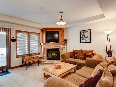 Photo for Slope-side Breckenridge condo, hiking trails, Ski-in/ski-out, Hot tub!