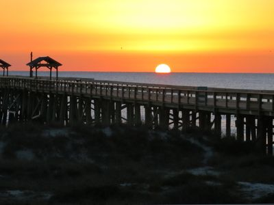 Photo for 1st Floor Remodeled Kitchen & Mstr Bath. Private Pier -Oceanfront! Free WIFI