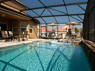 Photo for Spacious and Pet Friendly Pool Villa! With CDC Cleaning Standards. Quiet Resort.  - 5BD/4BA  - #5AV451
