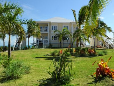 Photo for Penthouse Condo w/Htd Pool, Beach, 2-Ocean View, Kayaks, Golf Cart, Boat Dock