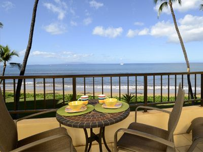 Photo for UP TO 25% OFF!!! Sugar Beach Resort #231 - 1BR Ocean Front