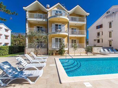 Photo for One bedroom apartment with terrace Jadranovo, Crikvenica (A-5521-a)