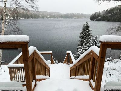 Photo for Raven Lake - Private, Cozy, Tranquil Lakefront Cottage