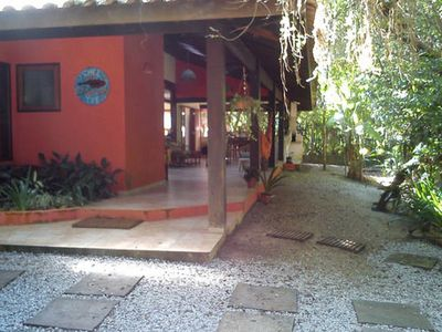 Photo for House in Itamambuca, the closest to the beach! Just 20m from the beach!