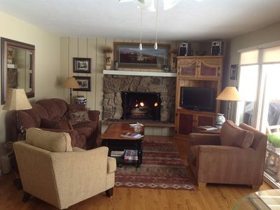 Photo for Cozy, Charming Condo In East Vail, Very Private Yet Close to All Activites.