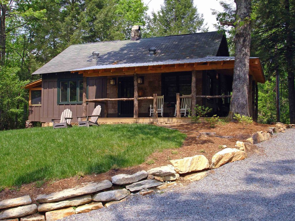 Fly Fishing Riverfront Charming Cabin With Open Field