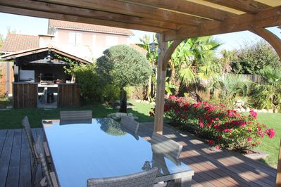 House With Terrace Outdoor Kitchen And Nice Garden To Enjoy The Sun Lege Cap Ferret