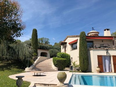 Photo for 4BR House Vacation Rental in Roquefort-les-Pins