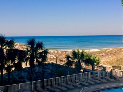 Photo for Joboken Dunes (New Listing) - Gulf front condo, sleeps 6,family friendly complex