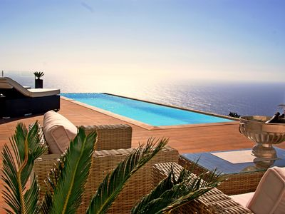 Photo for Exceptional architect villa with stunning sea views and infinity pool