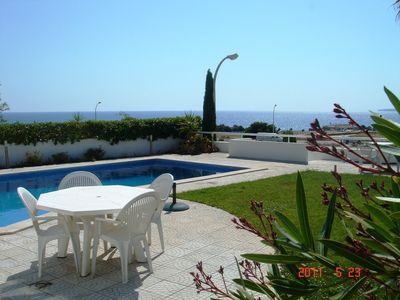 Photo for Villa w/private pool in peaceful holiday complex