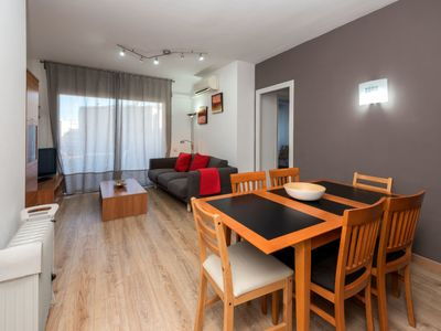 Photo for 4 bedroom Apartment, sleeps 6 in Barcelona with Air Con and WiFi