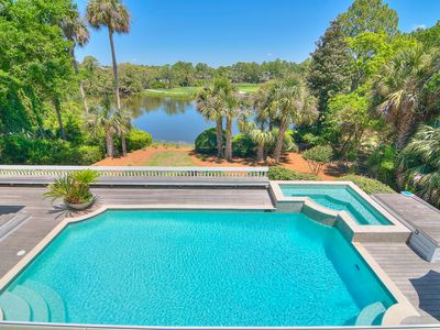 Photo for GOLF VIEWS, Private Pool and Hot Tub!!