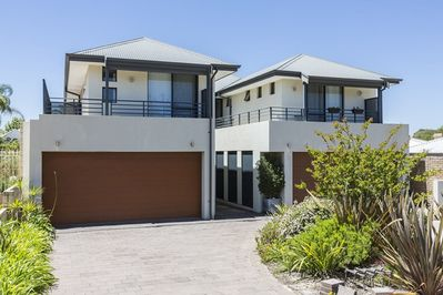 Front of the building. Remote control secure garage with one carpark