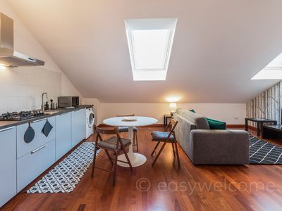 Photo for Bright and spacious two-room apartment in the Navigli area of Milan