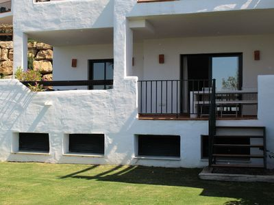 Photo for Spacious 2 bedroom apartment with private garden and amazing views
