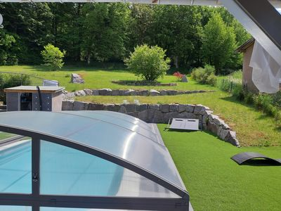 "Photo for CHARMING GUEST ROOM ""DES 2 LACS"" Pool side - 3 Epis"