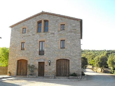 Photo for Self catering Masover de Figuera 7 people 80 km from Barcelona