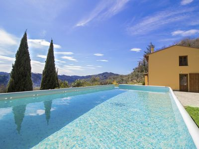Photo for Stunning private villa with private pool, WIFI, TV, balcony, pets allowed and parking