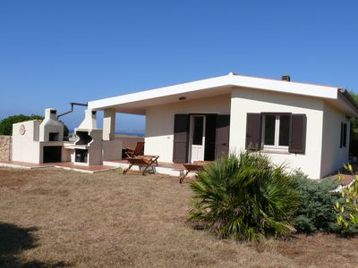 Photo for Typical Sardinia villa for up to 2 families with a scenic 180 degree sea view