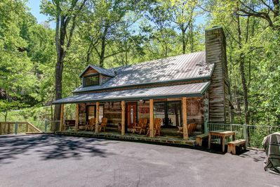 Enjoy Fresh Smoky Mountain Air , Grill Out, Sit on the porch .. and  just relax.