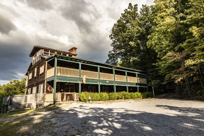 Historic lodge rental in the Great Smoky Mountains