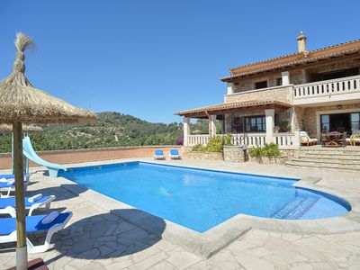 Photo for Spacious Finca in Vall D'Or Golf, Panoramic, family-friendly
