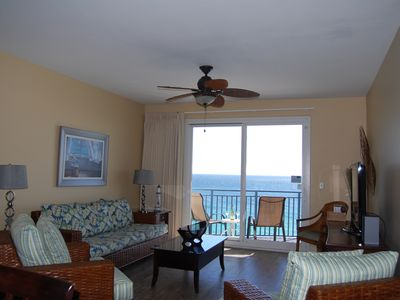 Photo for On the Beach, walk to PierPark, Corner Unit, 2000 sf, free chairs service & WiFi