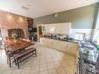 Photo for Large 7 bed house in the centre of buxton - large communal areas plus hotub