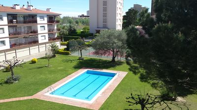 Photo for Ideal children !! Nice 2 bedroom apartment with attic. Swimming pool and Tennis 4pers (+2)