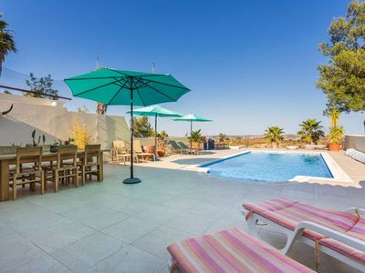 Photo for Luxury villa with private pool, fanastic views, mountainbikes and golfbuggy incl