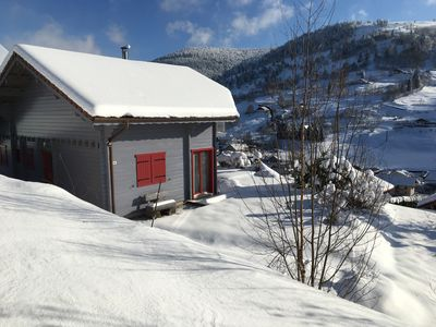 Photo for Superb 3-star chalet with an amazing view of the Bresse valley