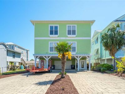 Photo for Beach Daze: 4 BR / 4 BA duplex - 1 side in Carolina Beach, Sleeps 8