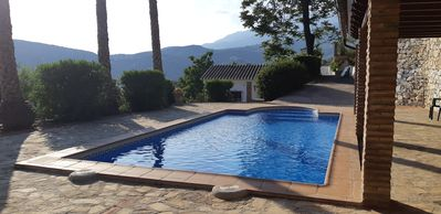 Photo for Casa Azahara, 4 people, swimming pool, sauna, exceptional views