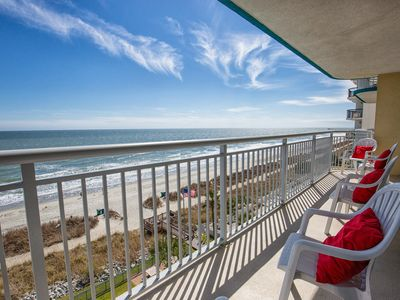 Photo for Direct Oceanfront 3 BR 3 Bath,Indoor & Outdoor Pools-Lazy River~Hot Tu