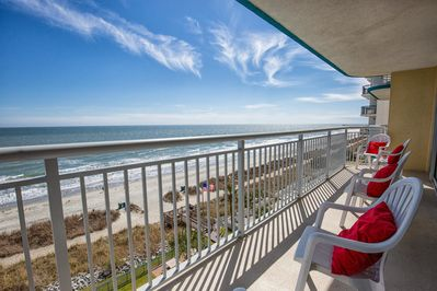 SPECIAL - Direct Ocean Front Balcony-Relax With A Book and Watch For Dolphins