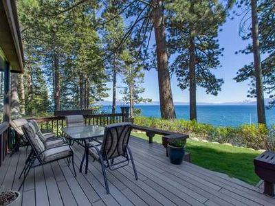Photo for Lakefront Northshore Townhome #54, pool,priv beach, pano lake views!