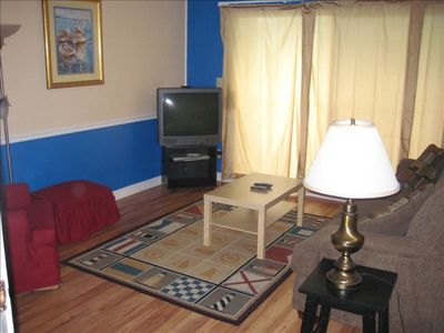 Affordable, family 2br 1&1/2 ba condo in beach front complex with pool.