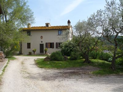 Photo for Charming centuries old farmhouse with a pool ans large semi-covered terrace