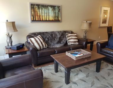 Photo for Luxury Canmore resort condo at Solara close to skiing in Banff, Lake Louise