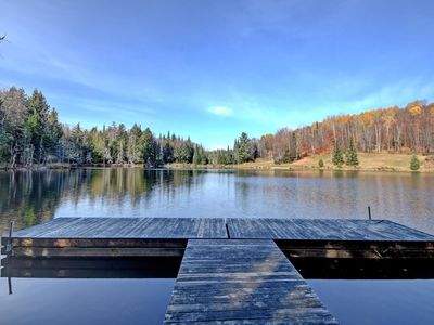 Photo for Lake front Log home 7 bedrooms