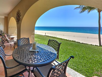 Photo for Oceanfront Luxury! Private 2 Bdrm, 2 Bath Villa