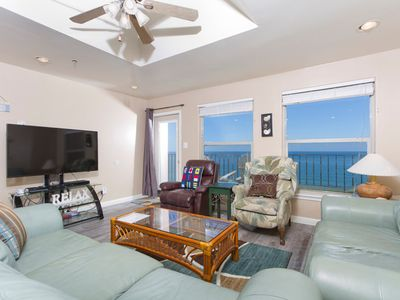 Photo for Inverness Penthouse 1102 - Spacious Condo, Panoramic Ocean Views from Private Balcony, Pool, Hot Tub