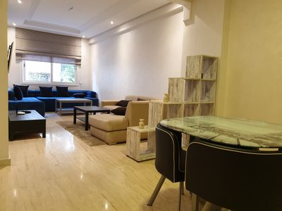 Photo for 3BR Apartment Vacation Rental in Casablanca, Casablanca-Settat