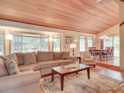 Photo for NEW LISTING! Inviting Sunriver home w/SHARC access to shared pool & hot tub