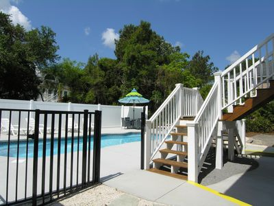 Photo for Beach Home, Private Saltwater Pool, Screen Porch, 2 Living Areas, 2 Master Suite