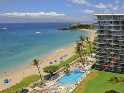 Photo for Stunning  Oceanfront 1 bedroom 2 bath condominium, Kaanapali Beach, Maui