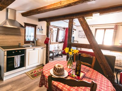 Photo for Cozy studio apartment, Muscat in the center of Ribeauvillé in Alsace