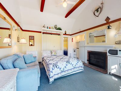 Photo for NEW LISTING! Ocean view cottage w/fireplace & BBQ area - on Parker River Beach!